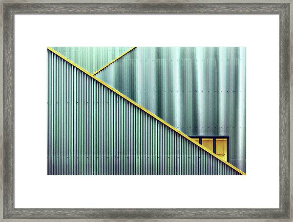 Stairs Framed Print by Jan Niezen