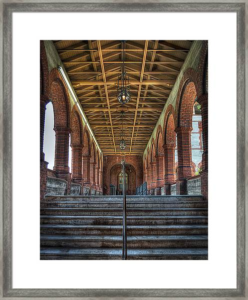 Stairway To History Framed Print