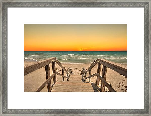 Stairway To Paradise Framed Print