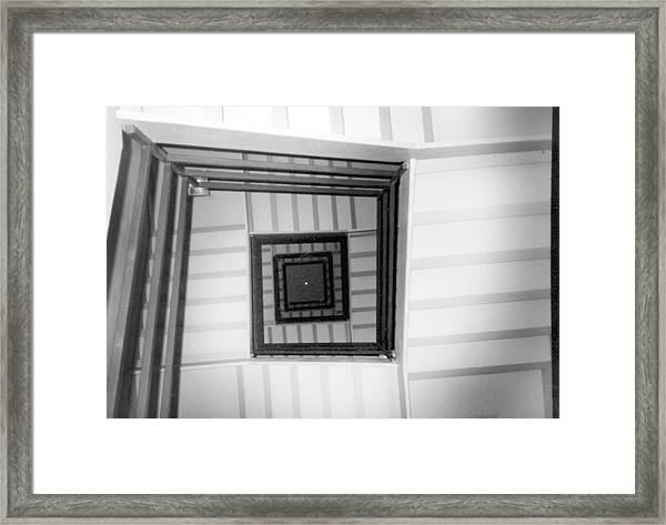 Stairwell Framed Print