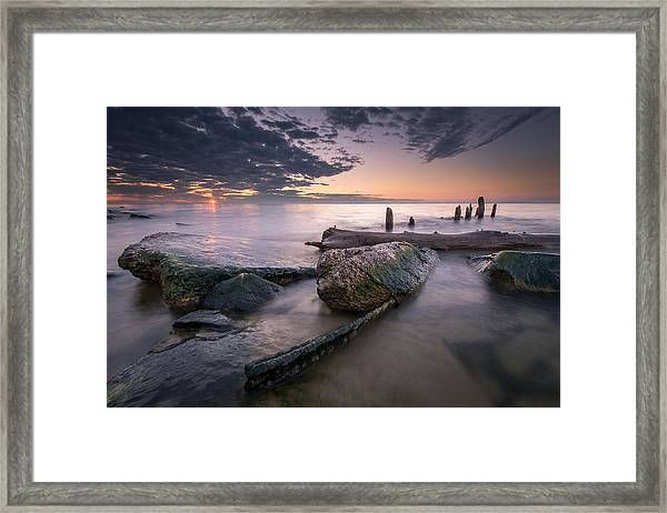 Stake Out Framed Print