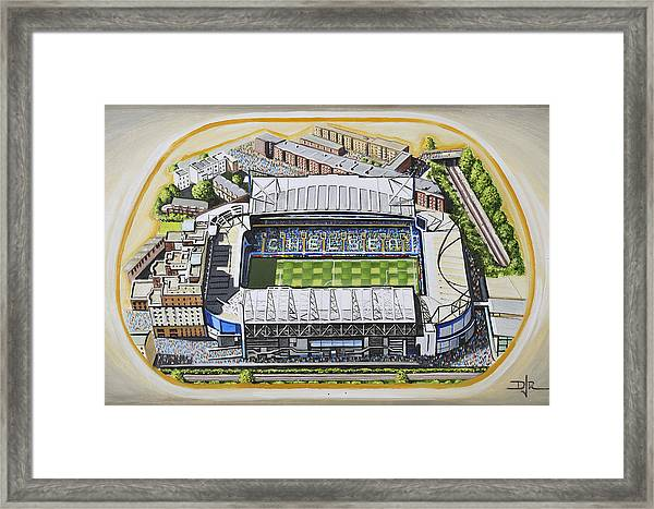 Stamford Bridge - Chelsea Framed Print