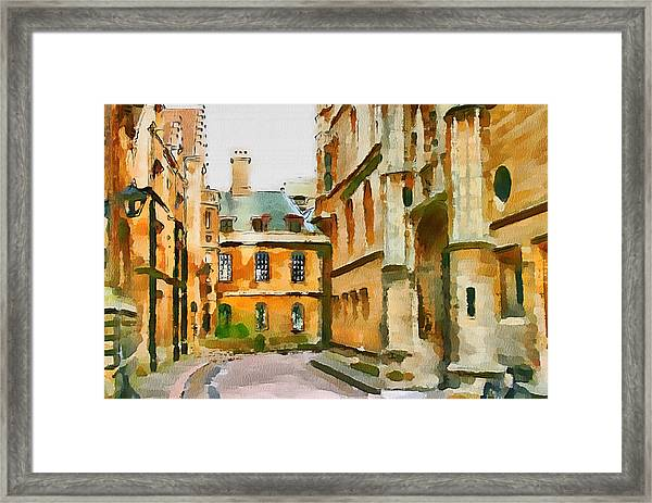 Stamford Uk 3 Framed Print
