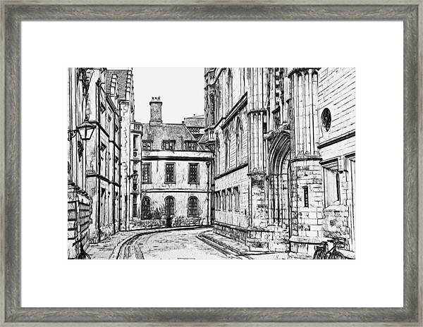 Stamford Uk 4 Framed Print