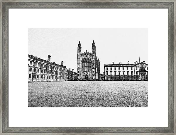 Stamford Uk 5 Framed Print