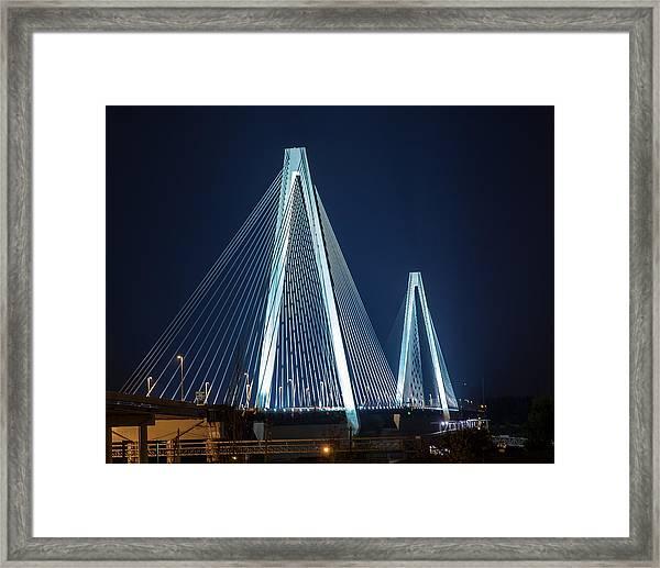 Stan Musial Veterans' Memorial Bridge Framed Print