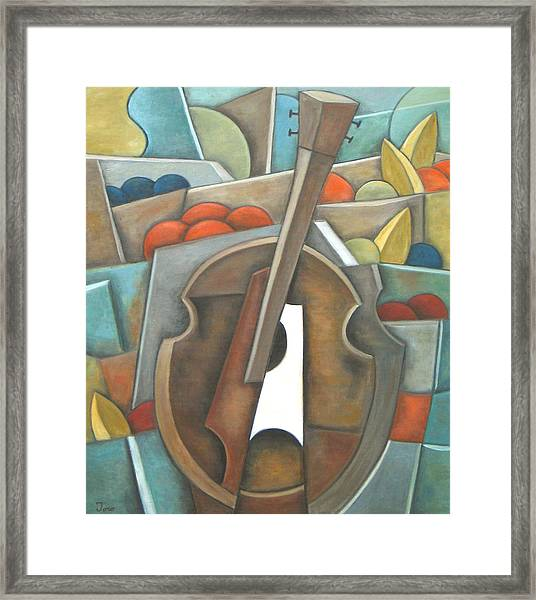 Standing Fruit Only Framed Print