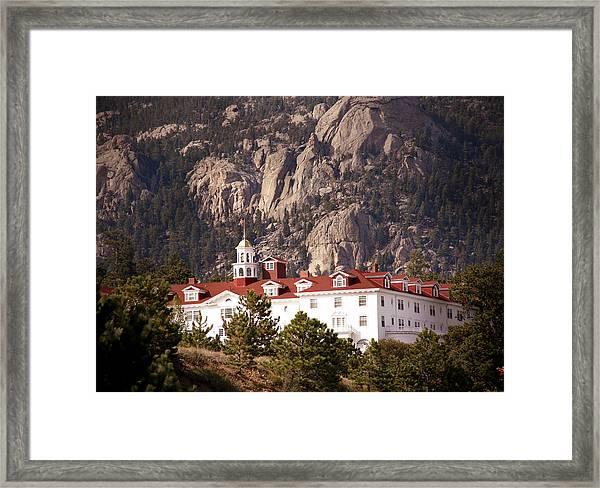 Stanley Hotel Estes Park Framed Print