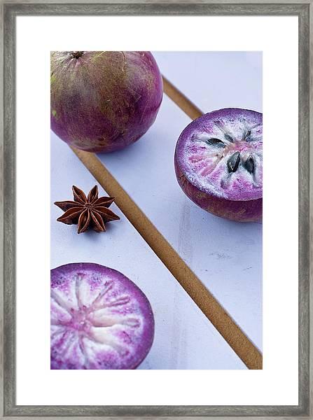 Star Apple Framed Print
