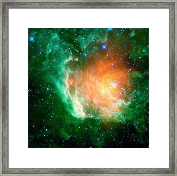 Star-birth Region Framed Print