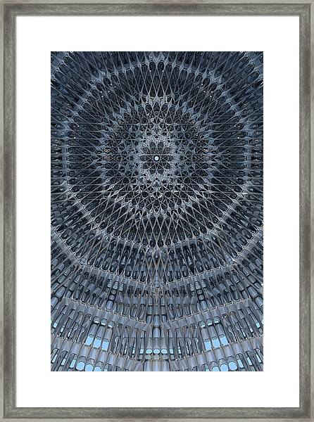 Star Dome Framed Print