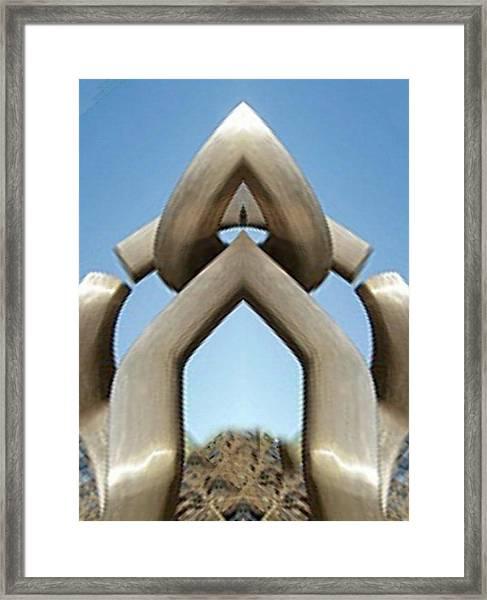 Star Gate Framed Print