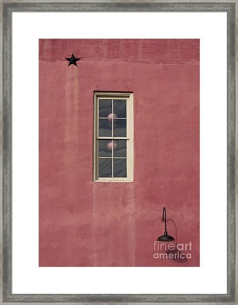 Star-light Window Framed Print