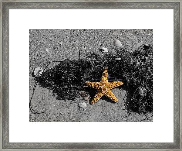 Star Man Framed Print
