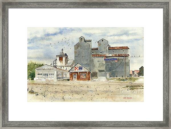 Star Mill Framed Print