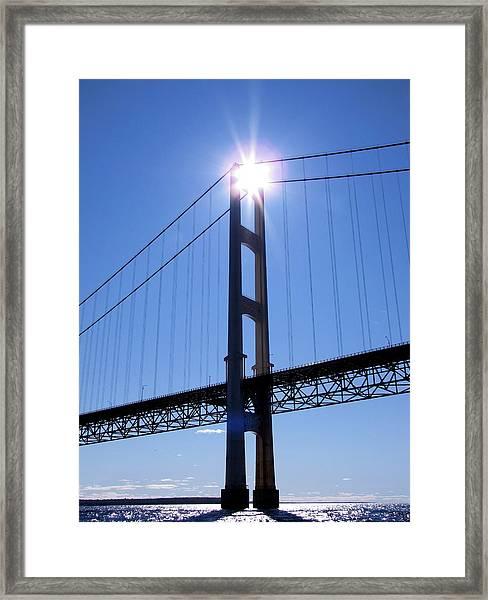 Star Tower Framed Print