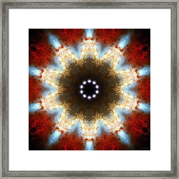 Starburst Galaxy M82 I Framed Print