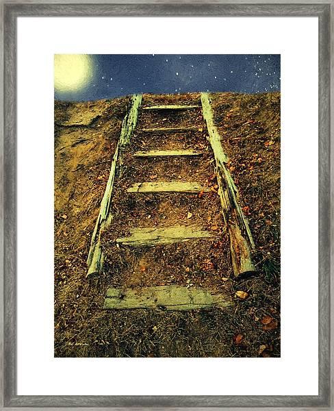 Starclimb Framed Print