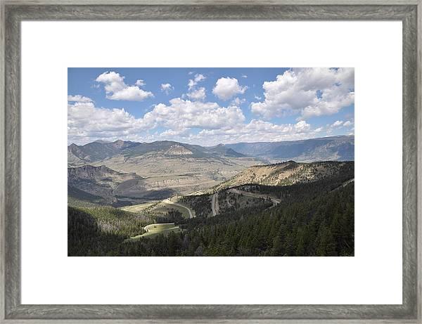Starlight Basin Framed Print
