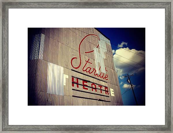 Starlite  Framed Print