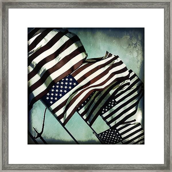 Stars N  Stripes Framed Print