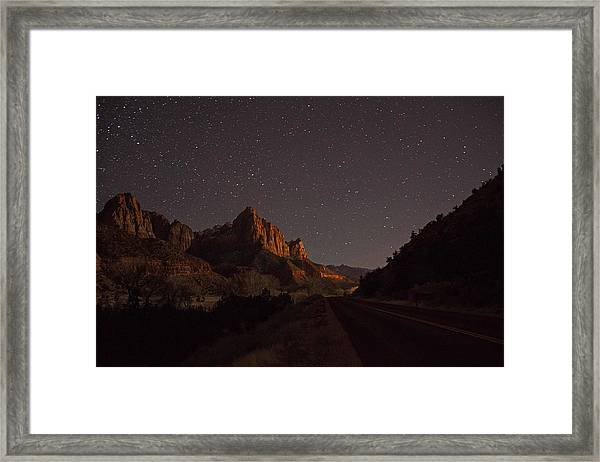 Stars Of Zion Framed Print