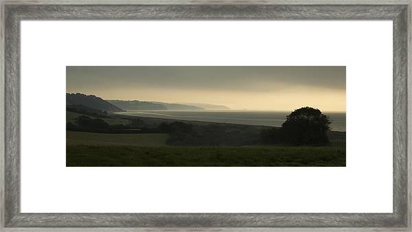 Start Bay Devon At Dawn Framed Print