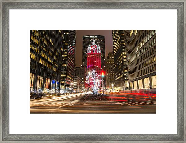 Starting To Look A Lot Like Christmas Framed Print