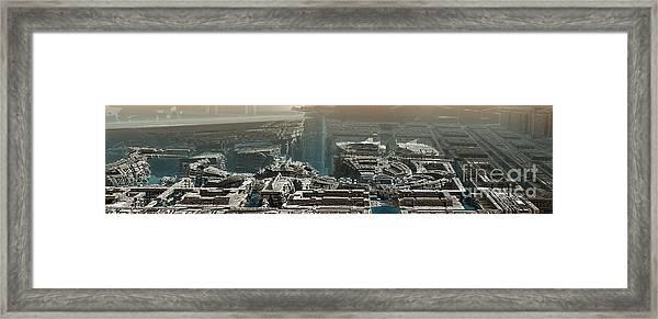 Starwars Framed Print by Bernard MICHEL