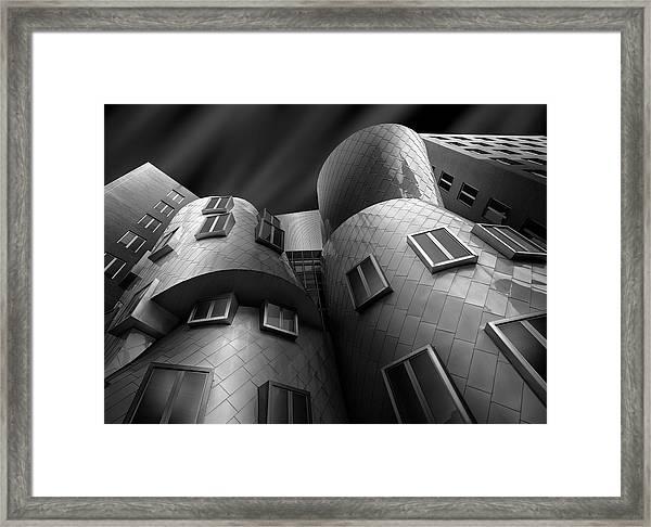 Stata Center Framed Print