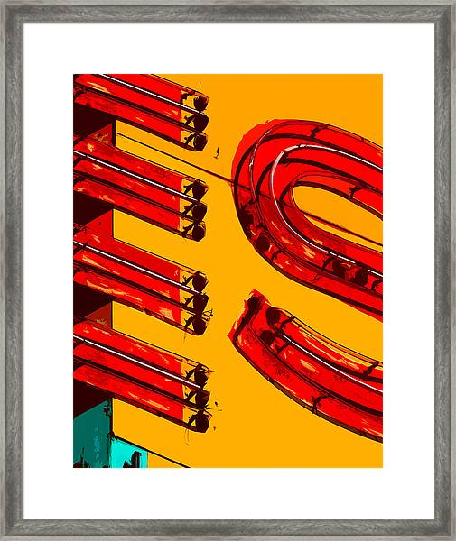 State Theatre Marquee Framed Print