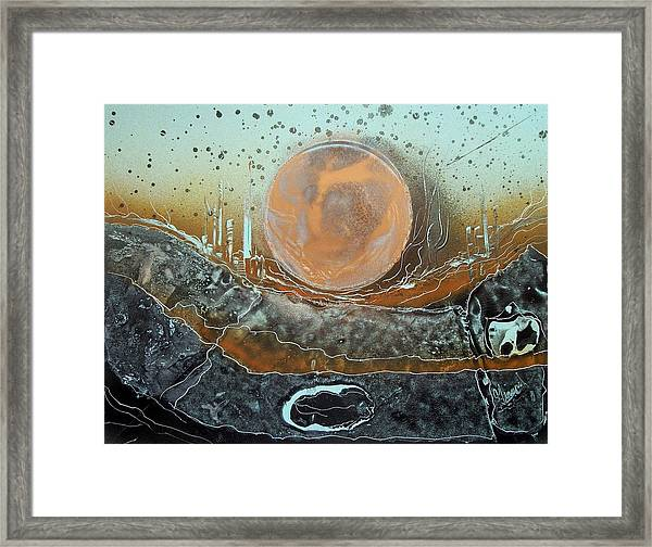 Station 11 Framed Print