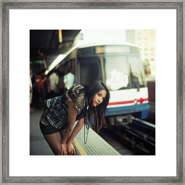 Station To Station Framed Print