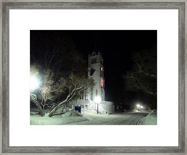 Ste. Anne Catholic Church Framed Print