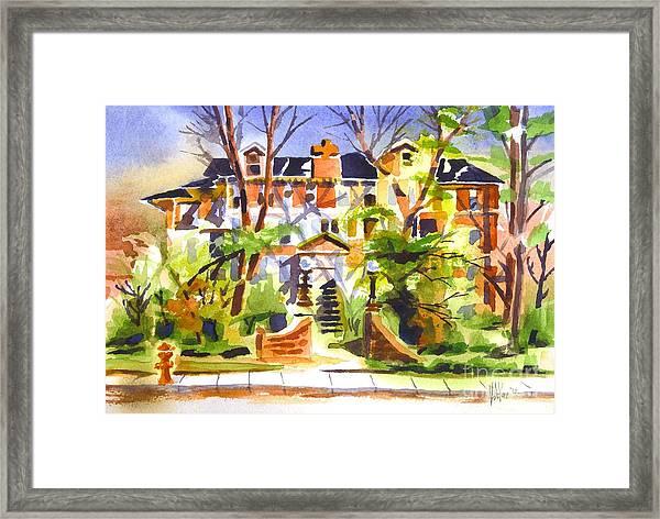 Ste Marys Of The Ozarks Hospital Framed Print