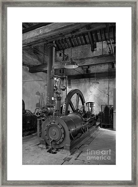 Steam Engine At Locke's Distillery Framed Print