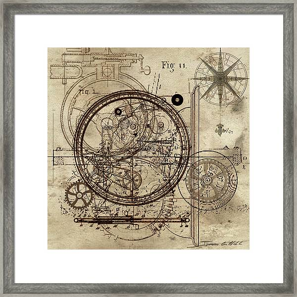 Steampunk Dream Series IIi Framed Print