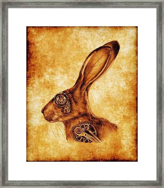 Steampunk Jack Framed Print