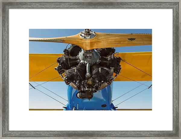 Stearman Framed Print