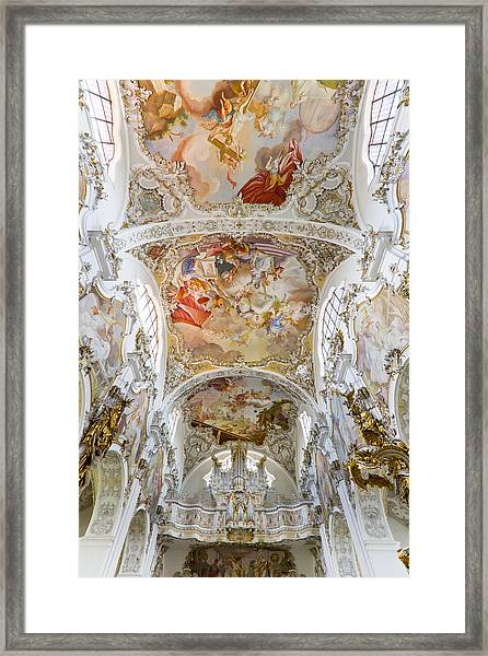 Steingaden Abbey Framed Print