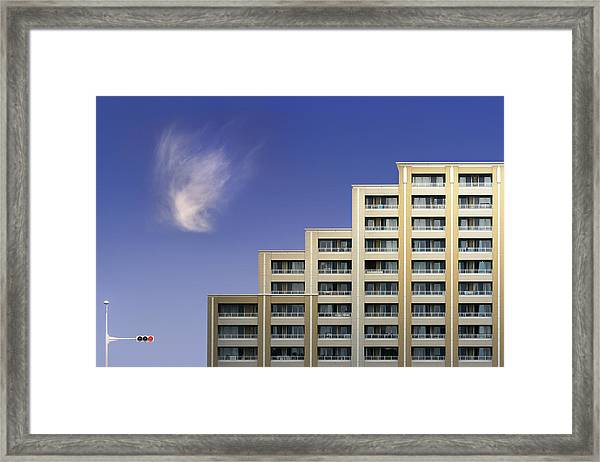 Step Circuitry Layer Framed Print