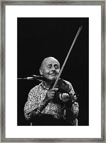 Stephane Grappelli   Framed Print