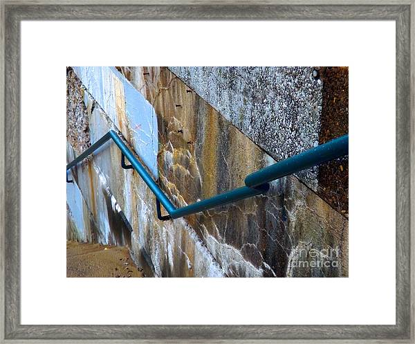 Stepping Outside The Lines Framed Print