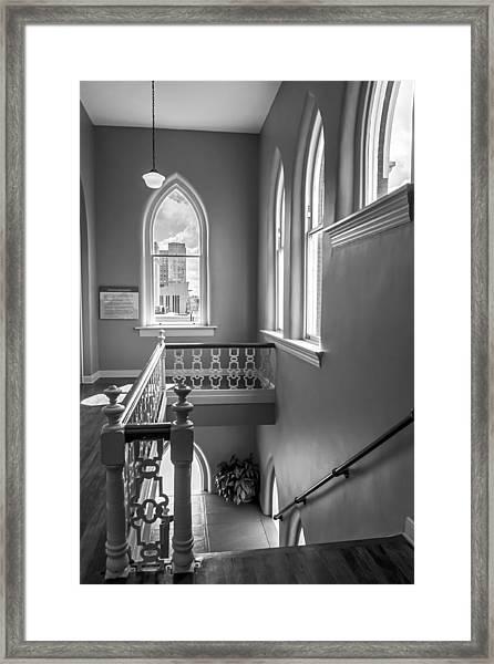 Ryman Steps Back In Time Framed Print
