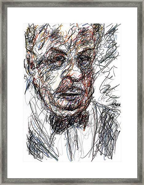Stern Framed Print