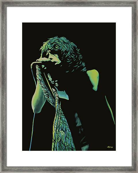Steven Tyler 2 Framed Print