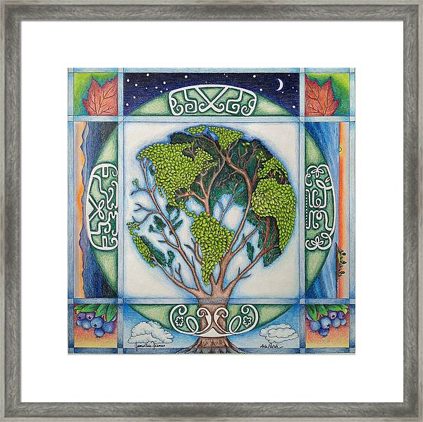 Stewardship Of The Earth Framed Print