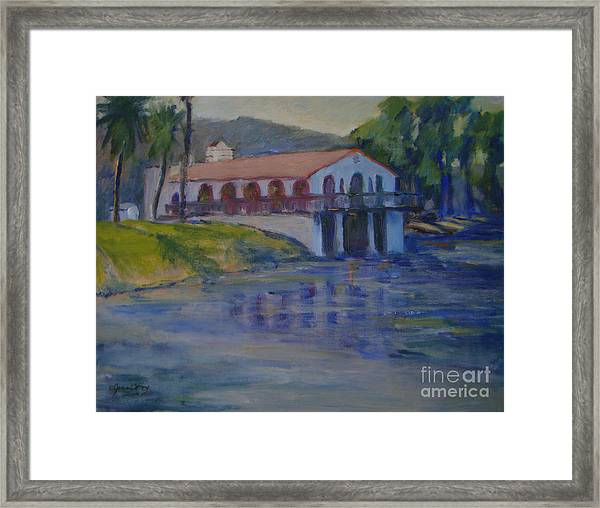 Stewarts Boat House No. 2 Framed Print