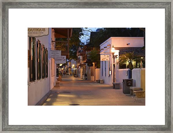 St.george Street Framed Print