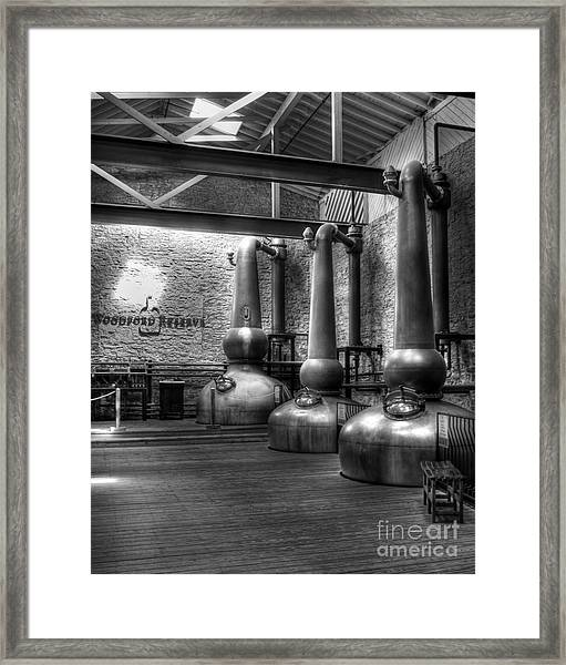 Framed Print featuring the photograph Still In Kentucky 2 Bw by Mel Steinhauer